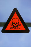 Label toxic chemicals. Stock Photos