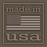 Label USA Royalty Free Stock Photography
