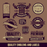 Label Vintage vector Royalty Free Stock Images
