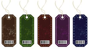 Labels. Price tags set EPS Stock Illustration