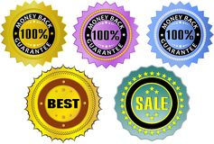 Labels Royalty Free Stock Image