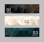 Labels Abstract Geometric design modern style Royalty Free Stock Photography