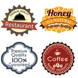 Labels Royalty Free Stock Photography