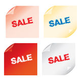 Labels badges and stickers Stock Image