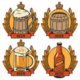 Labels for beer Stock Image