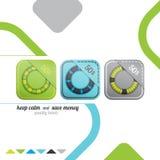 Labels d'anneau illustration stock