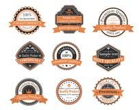 Labels de garantie d'ANG de qualité illustration libre de droits