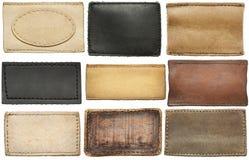 Labels de jeans Photo libre de droits