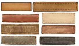 Labels de jeans Images stock
