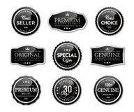 Labels de joint et produit de qualité de la meilleure qualité illustration libre de droits