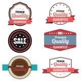 Labels de la meilleure qualité Images libres de droits