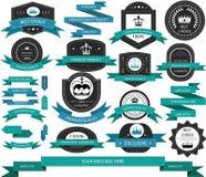 Labels de produit Image stock