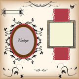 Labels de vintage Photo stock
