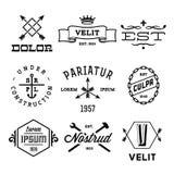 Labels de vintage Photographie stock