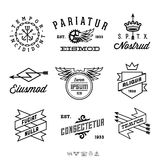 Labels de vintage Photos stock