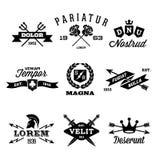 Labels de vintage Photo libre de droits