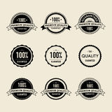 Labels de vintage Images libres de droits