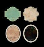 Labels de vintage illustration stock