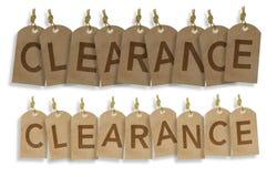 Labels de vintage de dégagement photo libre de droits