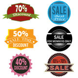 Labels Stock Image