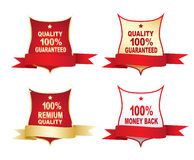 Labels - 100% guaranteed Royalty Free Stock Images