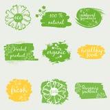 Set of labels vector illustration