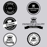 Labels icons Stock Photo