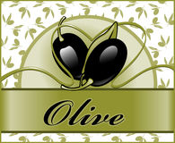 Labels for olive 2. Stock Photos