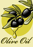 Labels for Olive Oil. Royalty Free Stock Images