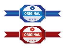 Labels - original Stock Image