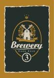 Labels pour la bière illustration libre de droits
