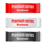 Labels Premium series Royalty Free Stock Photos