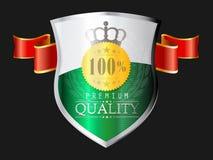Labels - qualité de la meilleure qualité Images libres de droits