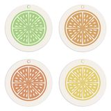 Labels and tags collection.Citrus concept Template. royalty free illustration