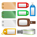 Labels and tags - Set 1 - Luggage Stock Images