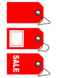 Labels and tags - vector Stock Image