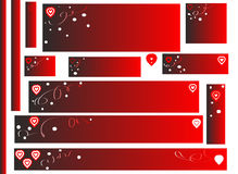 Labels for Valentines Day Stock Images