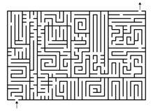 Laberinto ilustración del vector