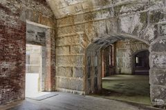 Laberinto de cuartos Imagen de archivo libre de regalías