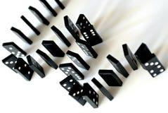 Laberinto de dominós Fotografía de archivo libre de regalías