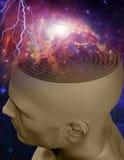 Laberinto de la mente Imagen de archivo