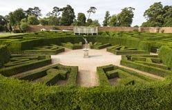 Laberinto del palacio de Bleinheim, Oxfordshire, Reino Unido Fotografía de archivo