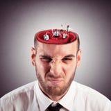 Laberinto loco de la mente Foto de archivo
