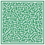 Laberinto (vector) ilustración del vector