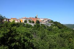 Labin, Croatia Royalty Free Stock Image