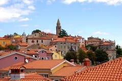 Labin, Kroatien. stockfotografie