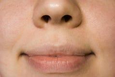 Labios de la boca Imágenes de archivo libres de regalías