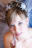 Labios hermosos Fotos de archivo