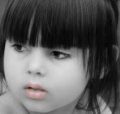 Labios rosados Fotos de archivo