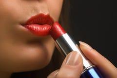 Labios y lipstick-4 Imagenes de archivo